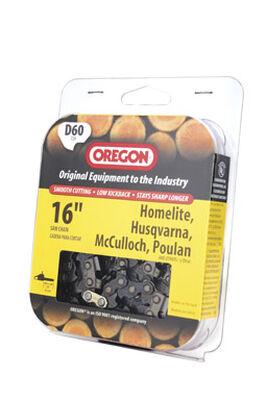 Oregon Chainsaw Chain 60 links 16 in. For Homelite Husqvarna Mcculloch Poulan 72V