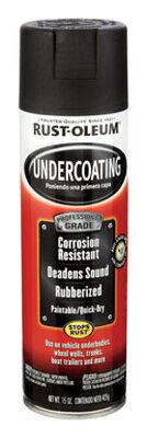Rust-Oleum Professional Grade Undercoating 15 oz. Black Spray Can
