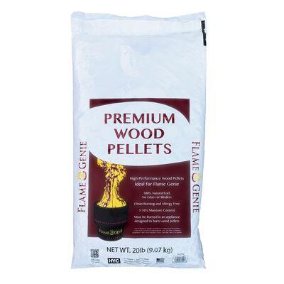 Flame Genie Premium Hardwood Wood Pellets 20 lb.