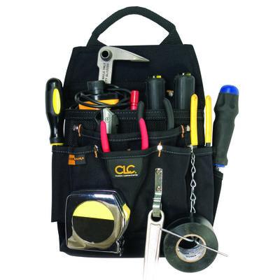 CLC Work Gear Ballistic Nylon Tool Pouch 6 inside pockets 6 outside pockets