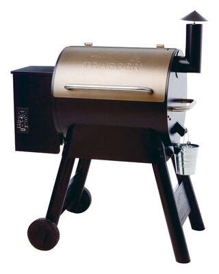 Traeger Pro Series 22 Wood Pellet 49 In H Grill Bronze 20 000 Btu