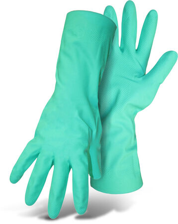 "Glove Chemical Nitrile L 13"" G"
