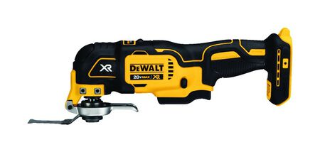 DeWalt XR 20 volt Cordless Oscillating Multi-Tool 20000 opm Yellow 1 pc.