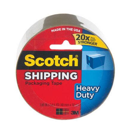 Scotch 1.88 in. W x 54.6 yd. L Packaging Tape Clear
