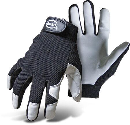 Glove Leather Goatskin Palm L
