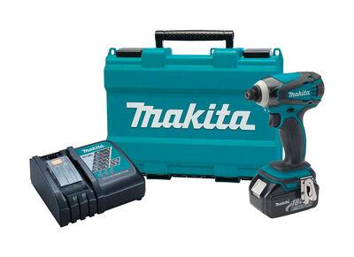 Makita 18 volts 1/4 in. Keyless Cordless Impact Driver Kit