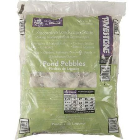 Rock Pond Pebbles .5 cu. ft.
