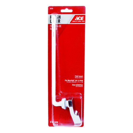 Ace Flush Lever 9 in. L Plastic