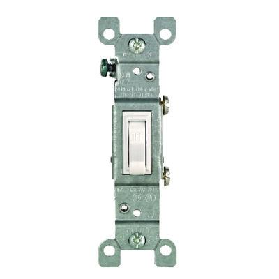Leviton CO/ALR 15 amps Toggle Switch Single Pole