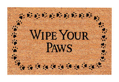 Decoir Tan Coir Nonslip Doormat 30 in. L x 18 in. W