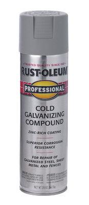Rust-Oleum Professional Cold Gray Metallic Galvanizing Compound Spray 20 oz.