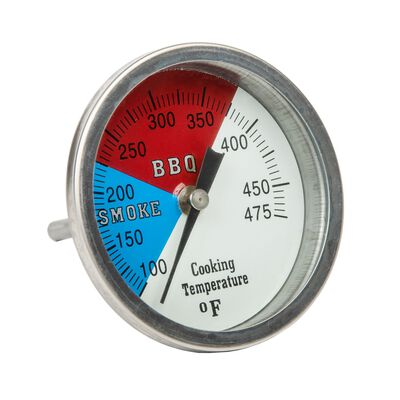 Old Smokey Stainless Steel Grill Gauge 3 in. H x 3 in. D 3 in.