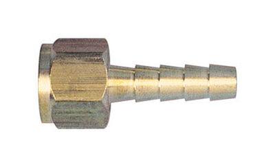 Tru-Flate Brass Barbed Swivel Fitting 1/4 in. ID x 1/4 in. NPT Female