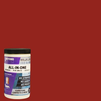 BEYOND PAINT Matte Poppy Water-Based Acrylic All-In-One Paint 1 qt.