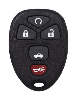 DURACELL Advanced Remote Automotive Replacement Key GM KOBGT04A 5-Button Remote Double sided Fo