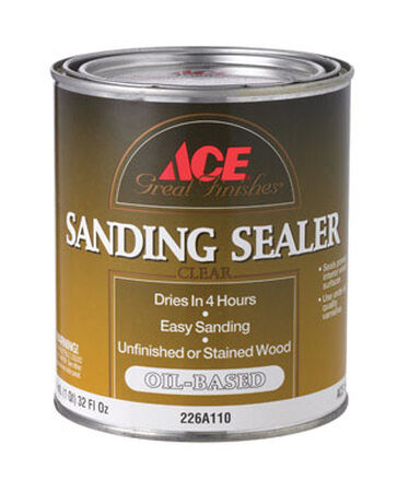 Ace Oil-Based Sanding Sealer Clear 1 qt.