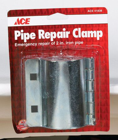 Ace 2 in. Dia. Steel Pipe Repair Clamp