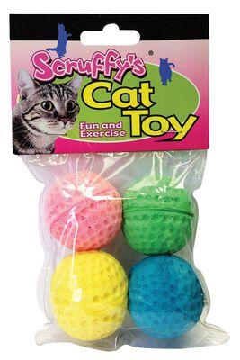 Boss For Cat Puff Balls Scruffy's Cat Toy