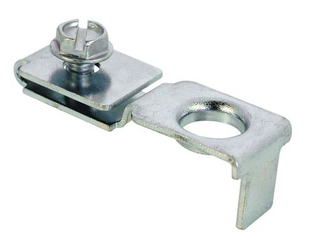 Prime-Line Zinc-Plated Top or bottom pivot Silver Bracket 1 pc.