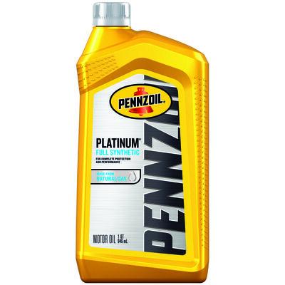 Pennzoil Platinum SAE 10W30 Motor Oil 1 qt.