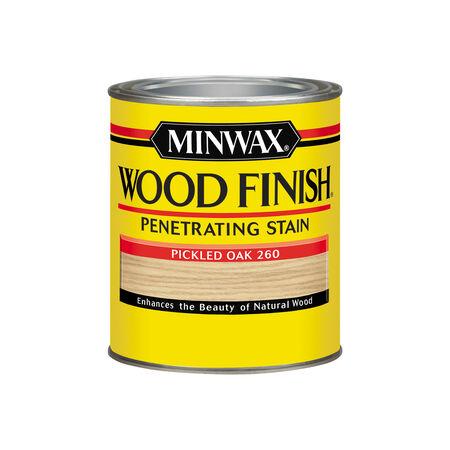 Minwax Wood Finish Semi-Transparent Pickled Oak Oil-Based Wood Stain 1 qt.