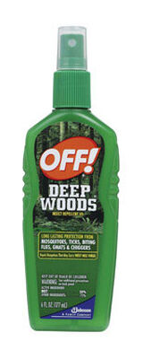 Deep Woods OFF! Insect Repellent DEET 25% Spritz 6 oz.