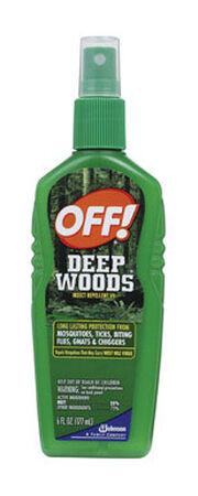 Deep Woods OFF! Insect Repellent DEET 25% Spritz 6 oz.