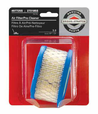 Briggs & Stratton Small Engine Air Filter For 5.0 Gross HP/CV
