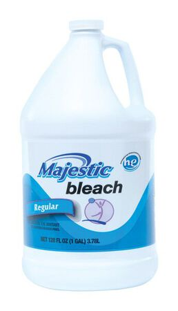 Majestic Regular Scent Bleach 128 oz.