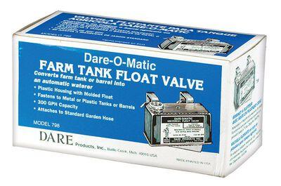 Dare-O-Matic Plastic Tank Float Valve