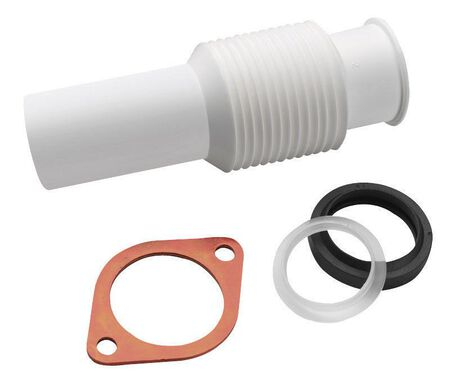 InSinkErator Flexible Discharge Tube White