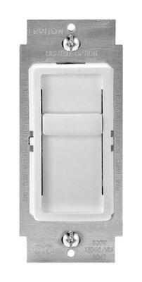 Leviton SureSlide 150 watts Slide Dimmer Switch White