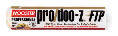 Wooster Pro/Doo-Z FTP Synthetic Blend Paint Roller Cover 3/16 in. L x 9 in. W