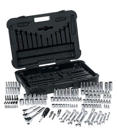 Craftsman 168 pc. SAE 168 pc. Steel 1/4 Mechanics Tool Set