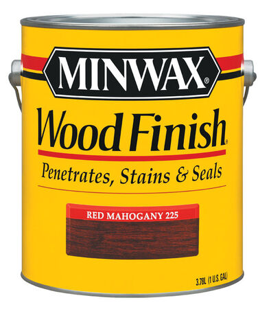 Minwax Wood Finish Transparent Oil-Based Wood Stain Red Mahogany 1 gal.