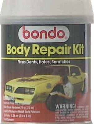 Bondo Auto Body Repair Kit 1 qt. For Metal Wood Masonry & Fiberglass