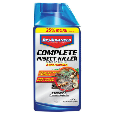 BioAdvanced Liquid Concentrate Insect Killer for Lawns 40 oz.
