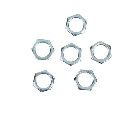 Jandorf Hex Nuts Steel 1/8 in. L 6 pk