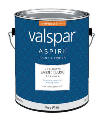 Valspar Aspire Interior Acrylic Latex Paint & Primer Pure White 1 gal.