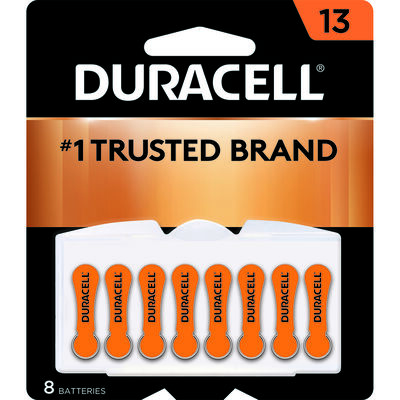 Duracell 13 Zinc-Air Hearing Aid Battery 1.4 volts 8 pk
