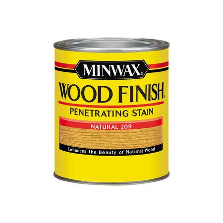 Minwax Wood Finish Semi-Transparent Natural Oil-Based Wood Stain 1 qt.
