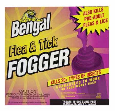 Bengal Fogger For Fleas & Ticks 3-2.7 oz. Cans
