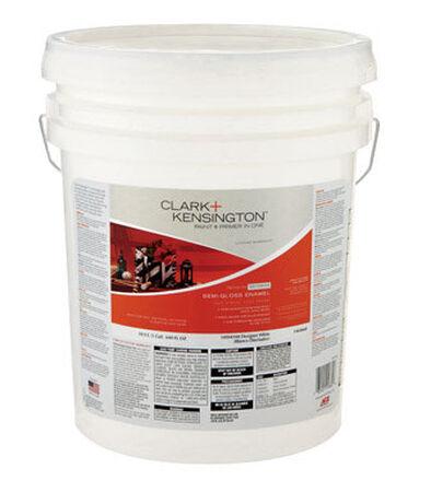 Clark+Kensington Exterior Exterior Acrylic Latex Enamel Paint Tintable Base 5 gal.