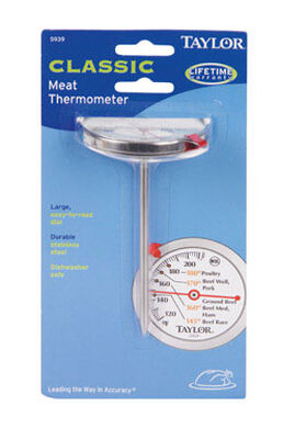 Taylor Analog Meat thermometer 120 To 212