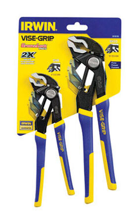 Irwin 8 & 10 in. Alloy Steel Locking Pliers Set