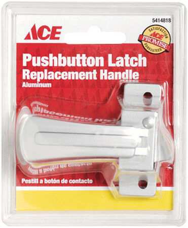 Ace Interior Steel Aluminum Push Button Latch Replacement