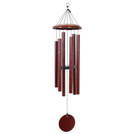 "Corinthian Bells, 36"" Ruby Splash Windchime"