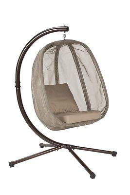 Flower House Egg Chair, Bark