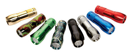 Diamond Visions Max Force Flashlight LED AAA Assorted