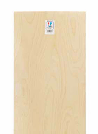 Midwest Products 1/8 in. x 1 ft. W x 2 ft. L Plywood
